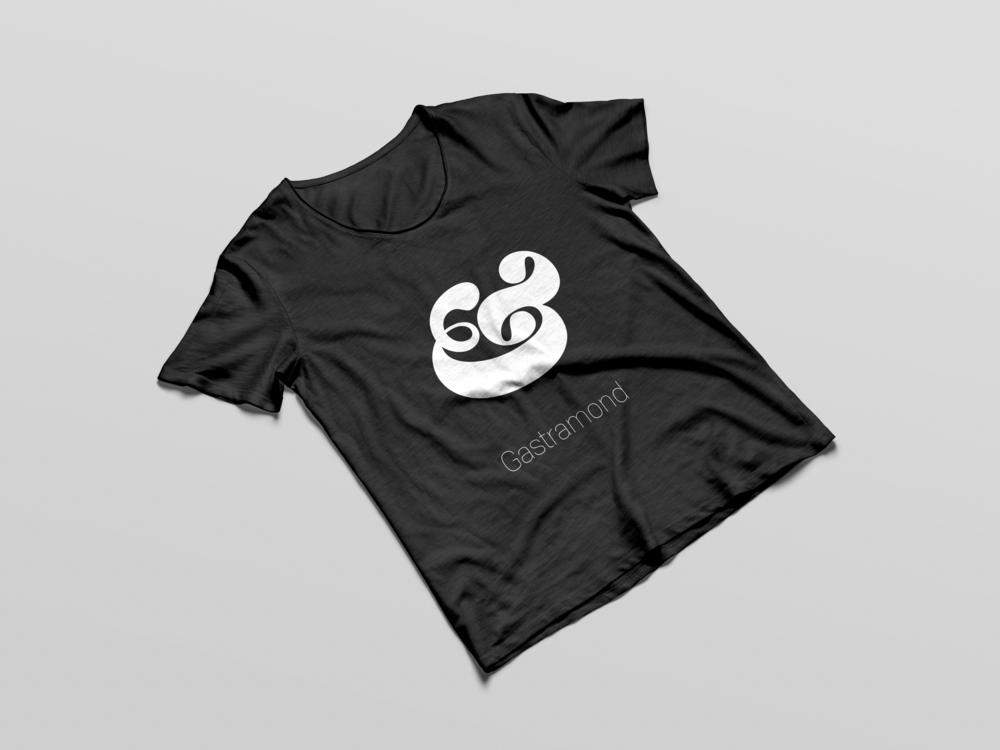 gastramond ampersand t shirt mockup.png
