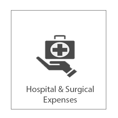 Offers comprehensive medical coverage and reimburses the eligible medical expenses of your hospital bills.