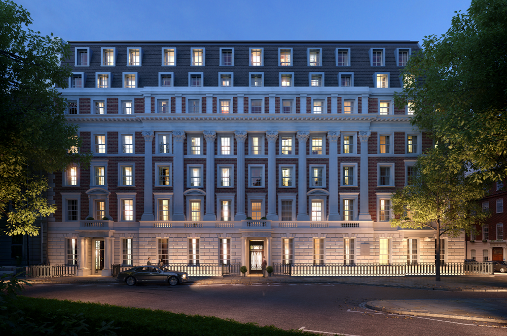 Helen Green Design is Appointed on No.1 Grosvenor Square