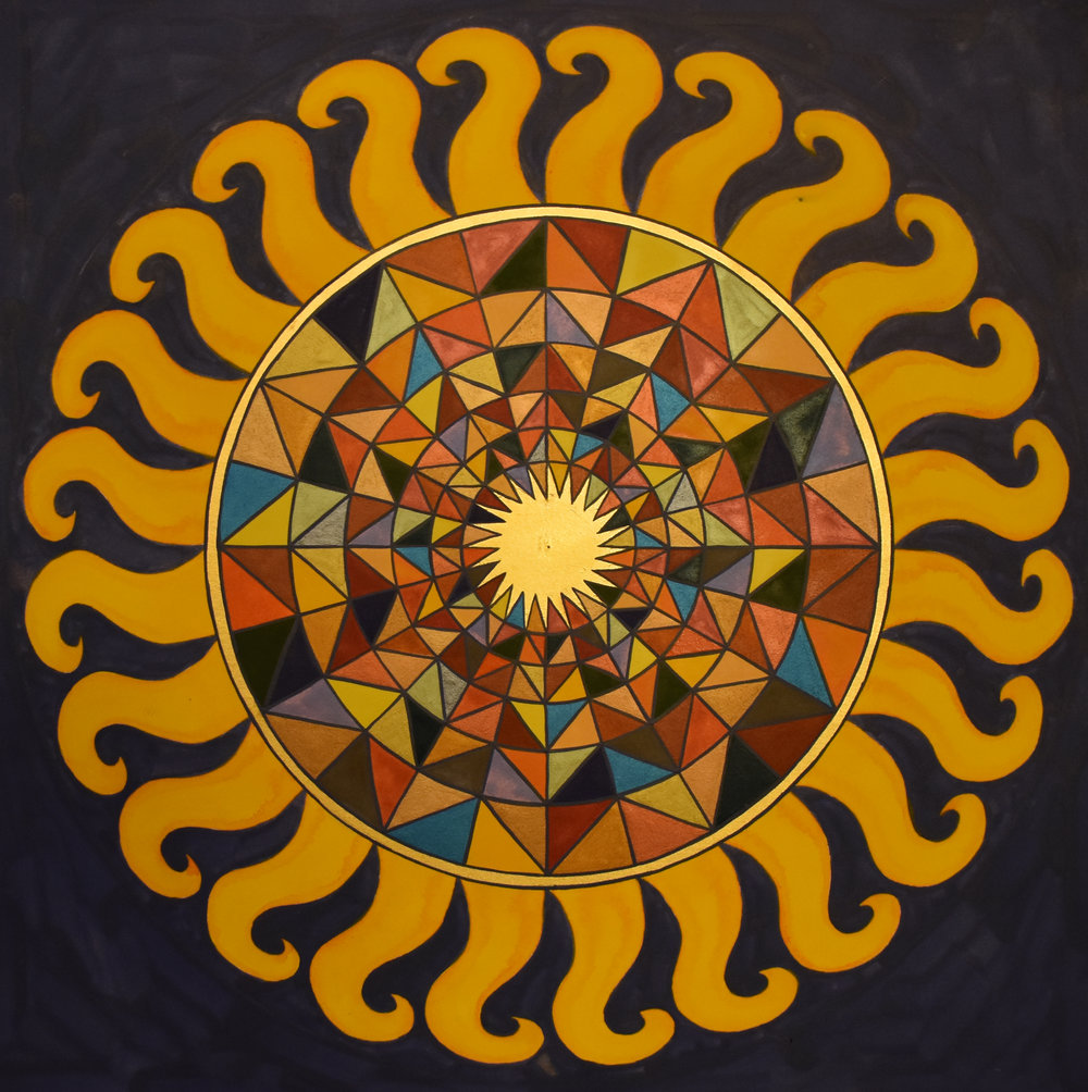 "#61 ""Mandala XLV"""