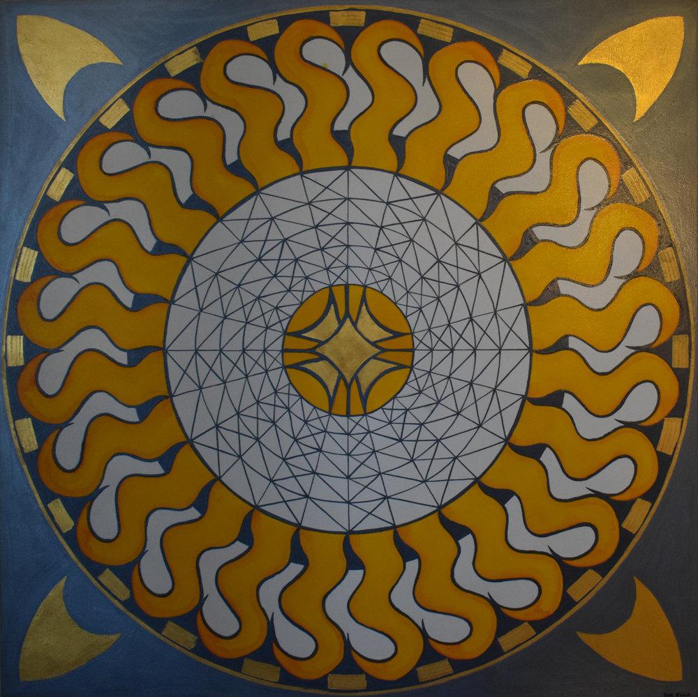 """#64 """"Mandala XLIII"""""""