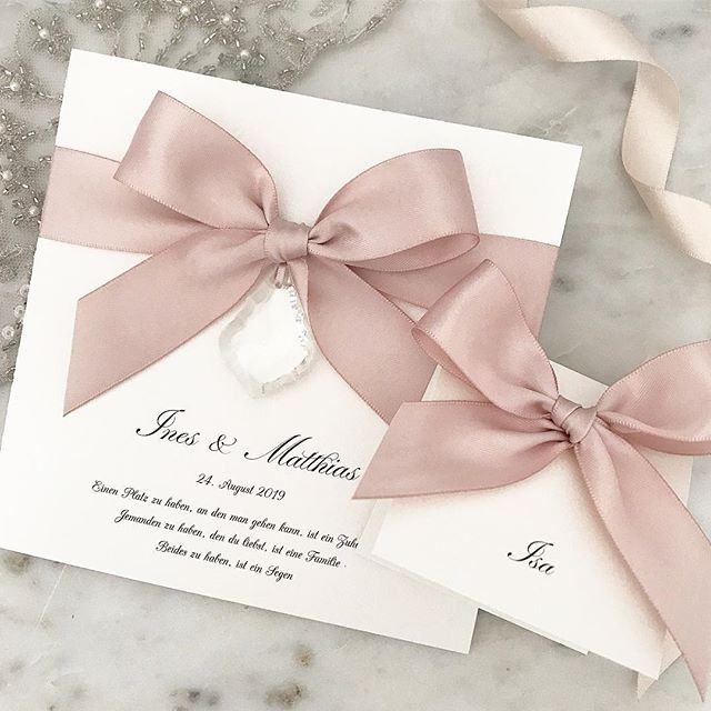 💕 'Love' invitation design with matching place cards 💕