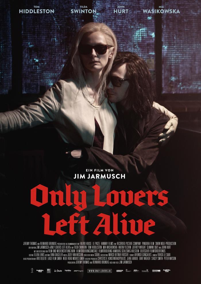 Brokenscript en el poster de Only Lovers Left Alive