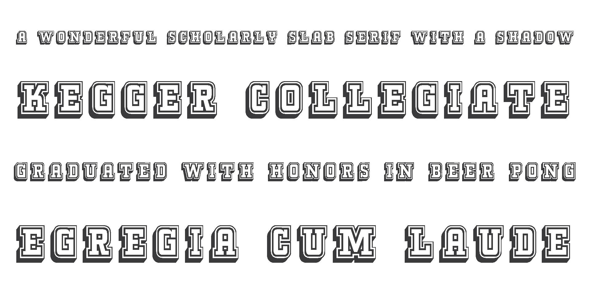 Kegger Collegiate en la página de su creador