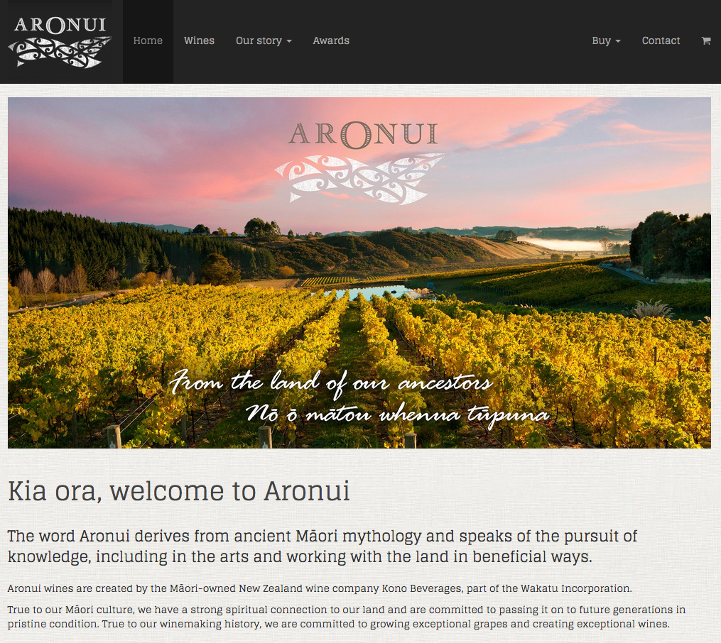 Glegoo on Aronui Wines