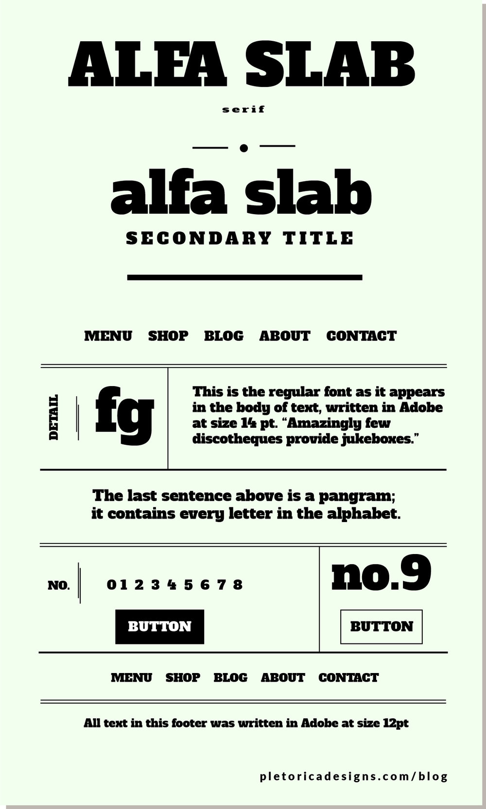 LET'S TYPE: Alfa Slab — PLETÓRICA DESIGNS