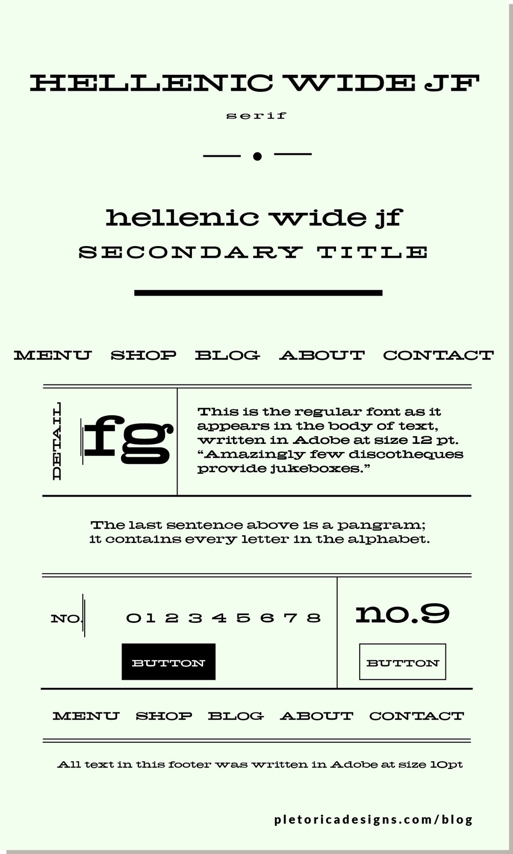 LET'S TYPE: Hellenic Wide — PLETÓRICA DESIGNS