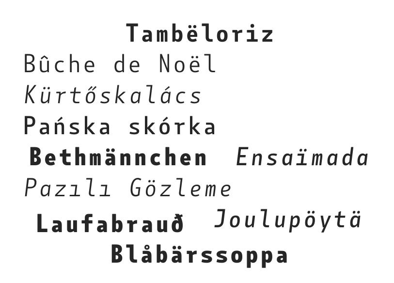 Botanica Mono en Font Shop