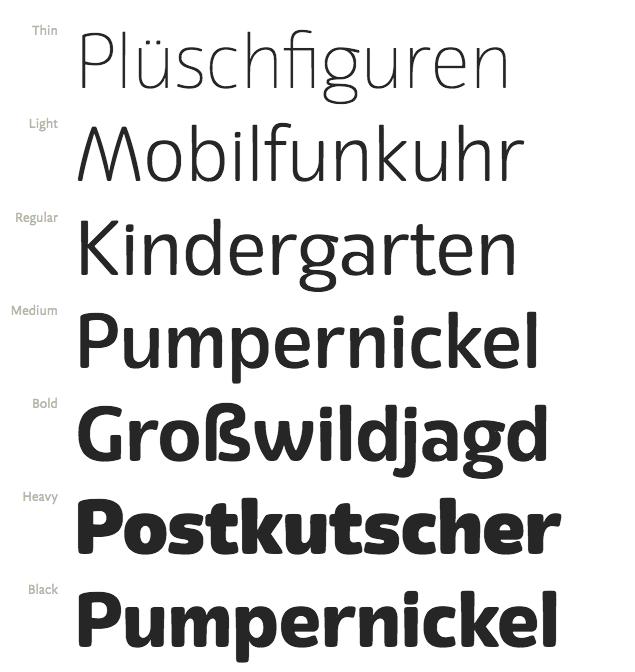 Eigerdals en Font Shop