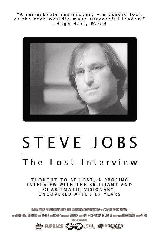 Lucida Sans en el poster de The Lost Interview