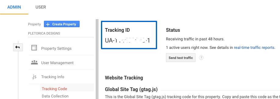 Código de seguimiento de Google Analytics — PLETÓRICA DESIGNS
