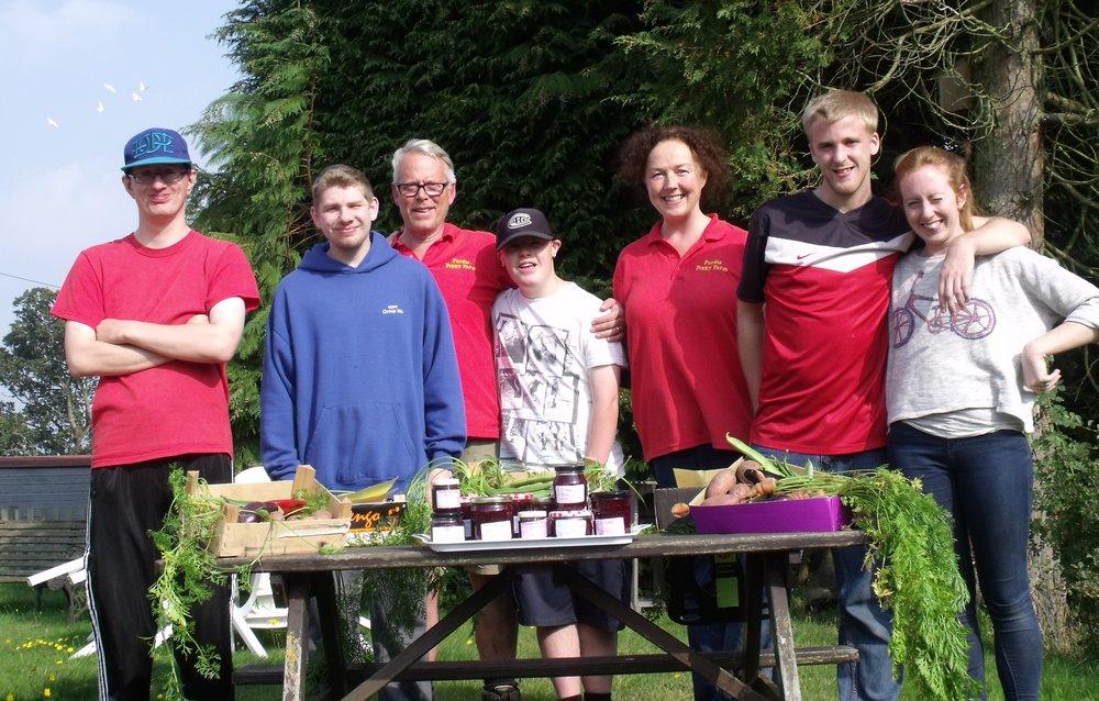 Poppies Care Farm Harvest Festival
