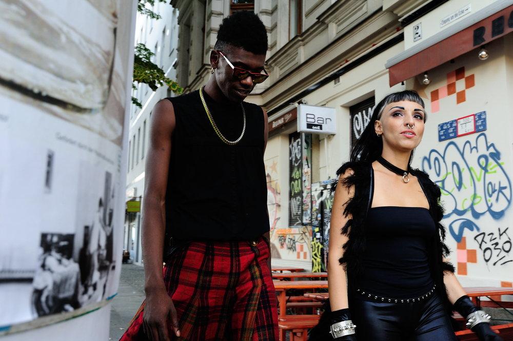 Models: Braullio, Nadja Buhajar Photography:Joerg Brunsendorf Styling: Teodora Jimborean