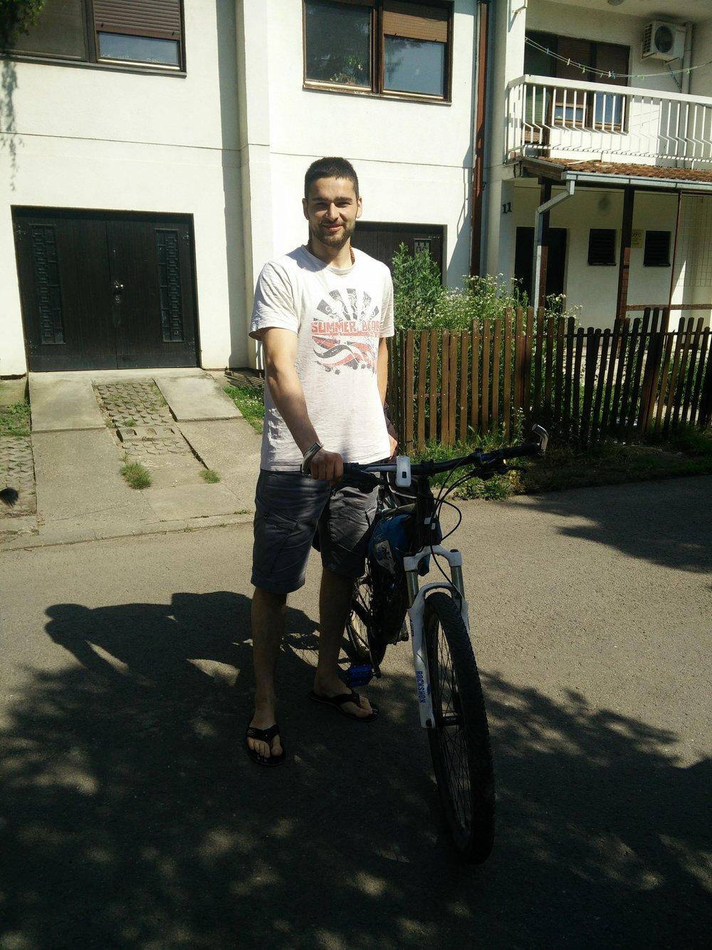 Marko & de fiets