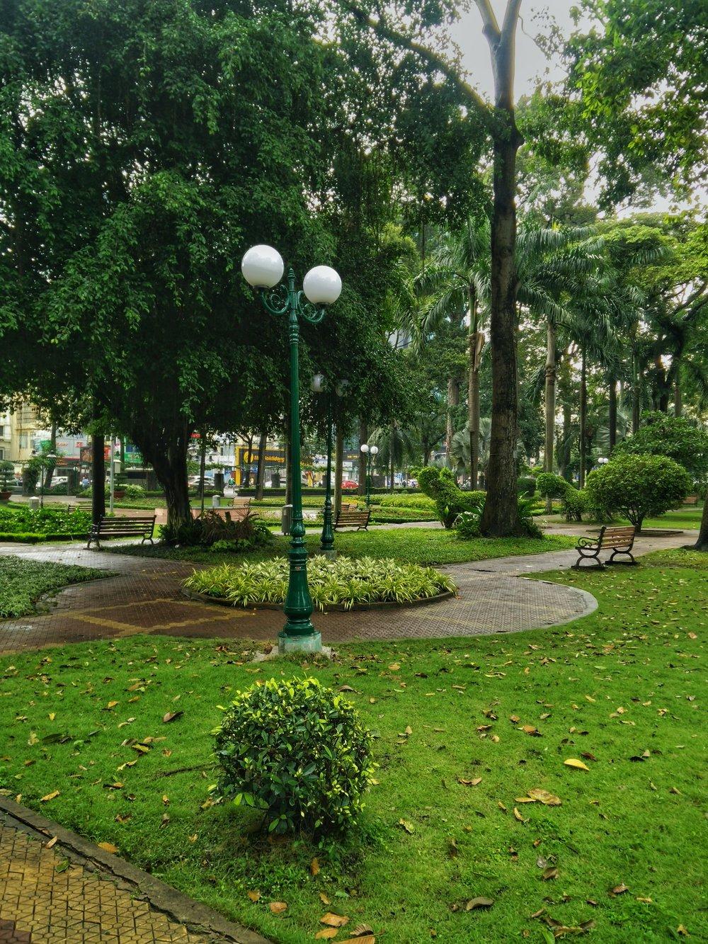 Een stadspark