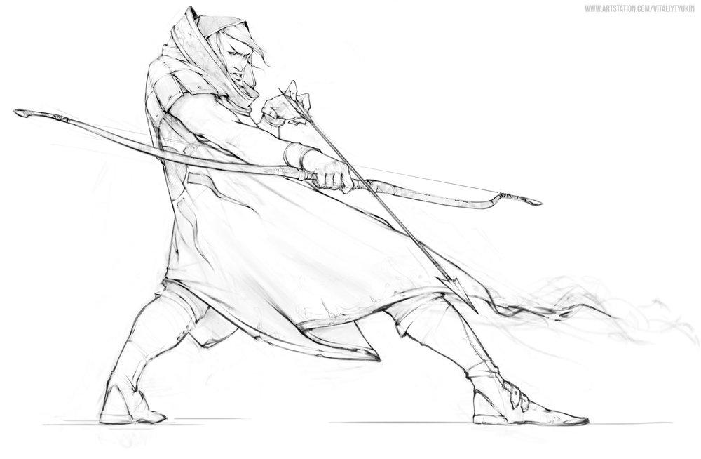 vitaliy-tyukin-line-art-archer.jpg