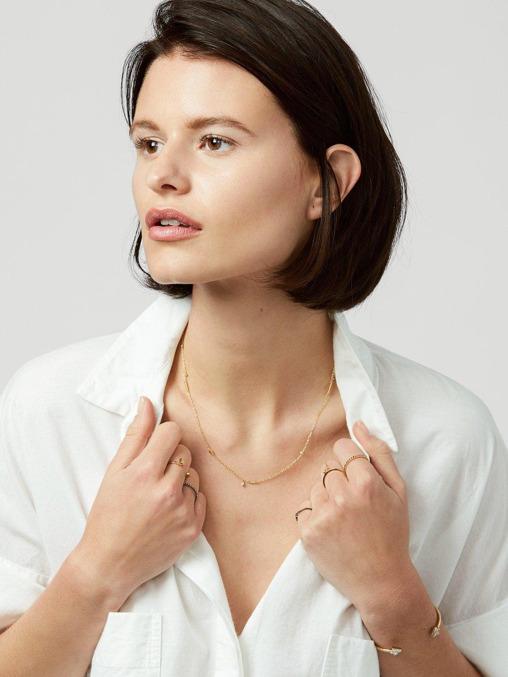 Milkyway necklace (USD$34.00)