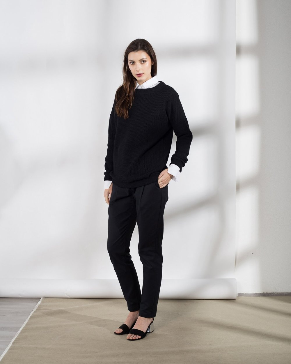 Black pullover (€112)
