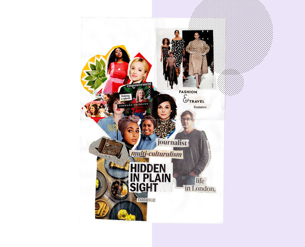 Everyone was asked to make a vision board in 30 minutes and this is what I came up with.