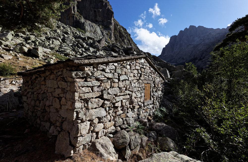 Bergeries de Grotelle, vallée de la Restonica