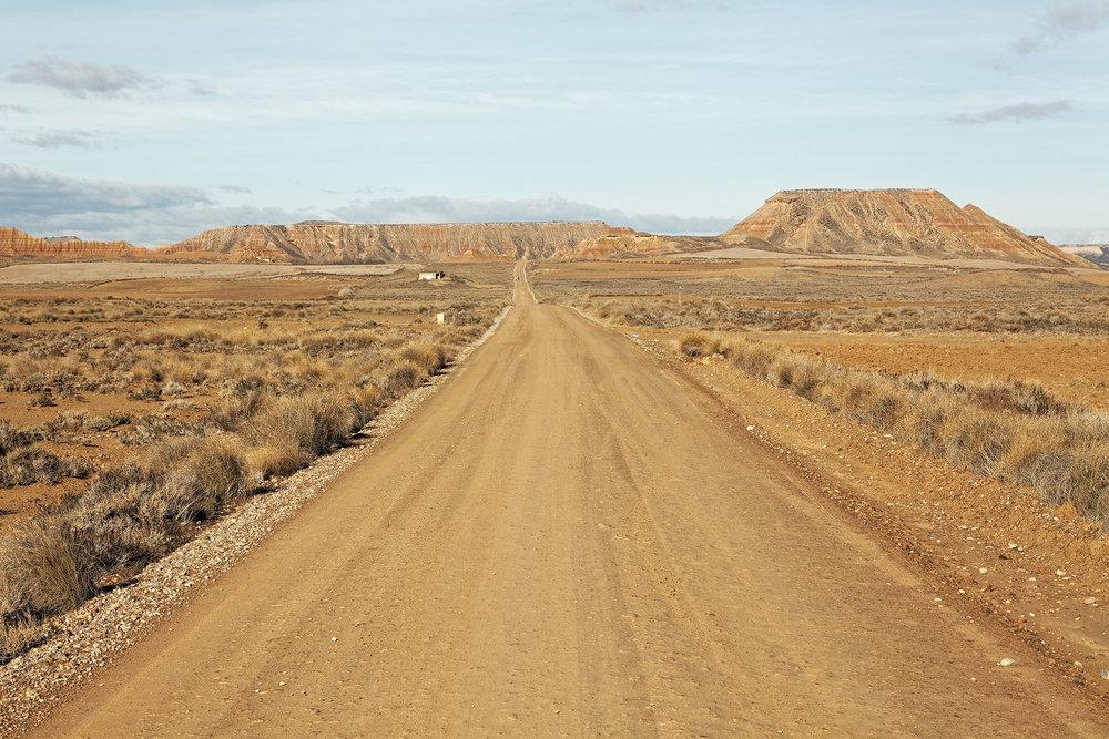 Sur les routes du désert, Espagne