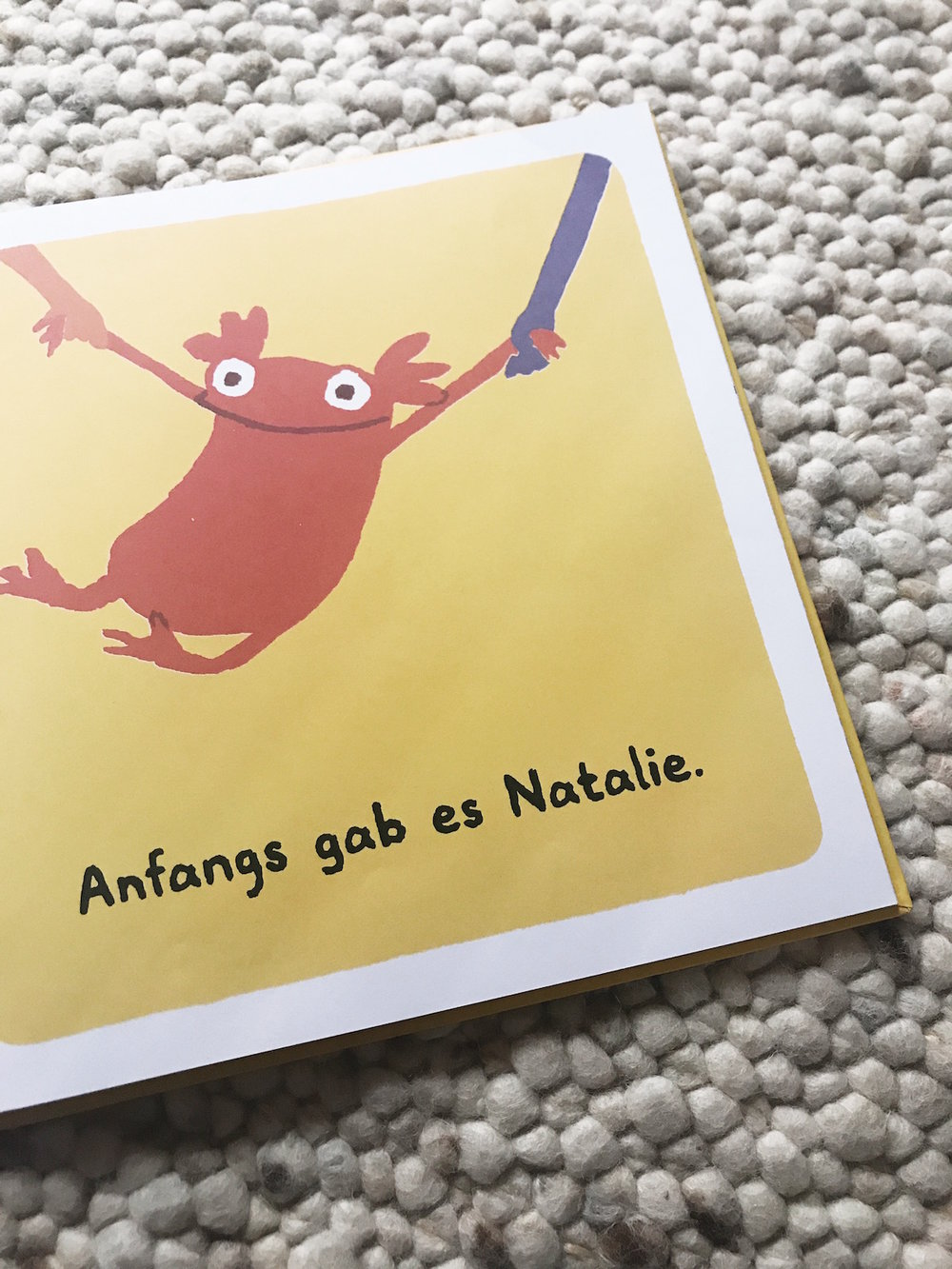 Anfangs gibt es Natalie, dann kam Alfonso dazu.