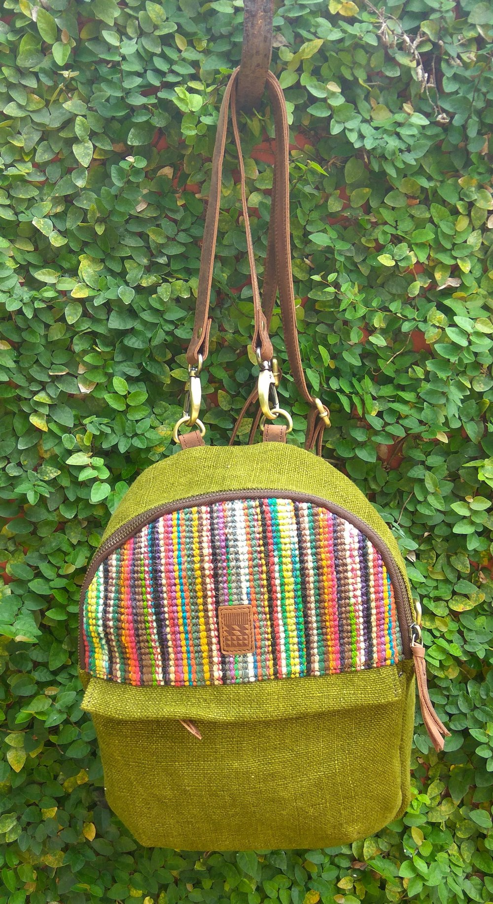 Custom Olive Little Sister with Sisal Jute.jpg