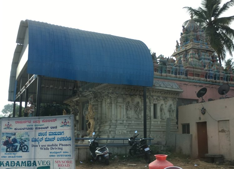 It is a very common thing to have a Hindu temple on just about every corner in India.