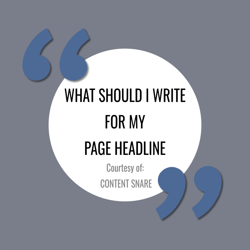 Guide to writing effective headlines and subheadlines by  Content Snare