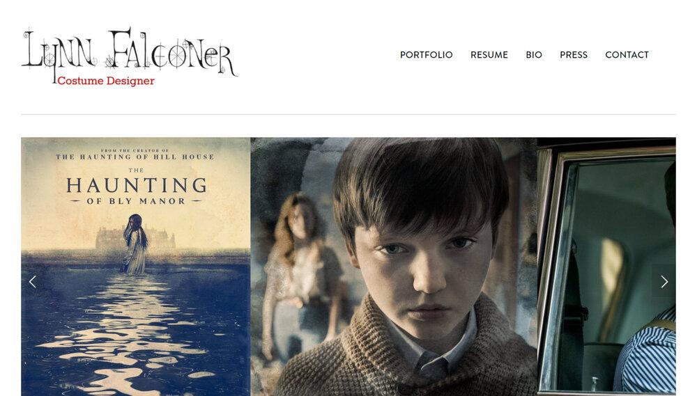 Costume Designer Website