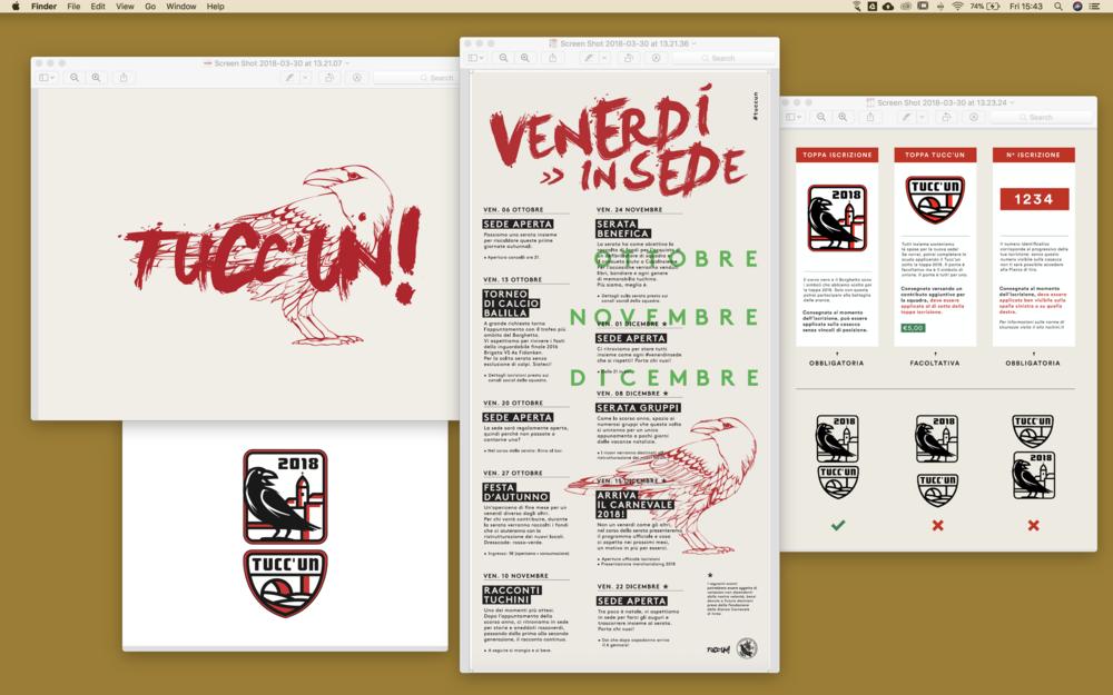 Offline  Poster, affissioni, toppe, calendari e tutto ciò che riguarda la comunicazione stampata.