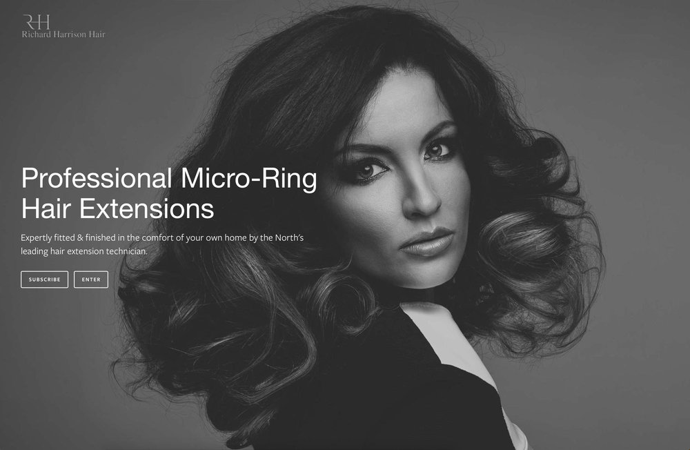 Lithium Design - Small Business Portfolio Richard Harrison Hair 1a
