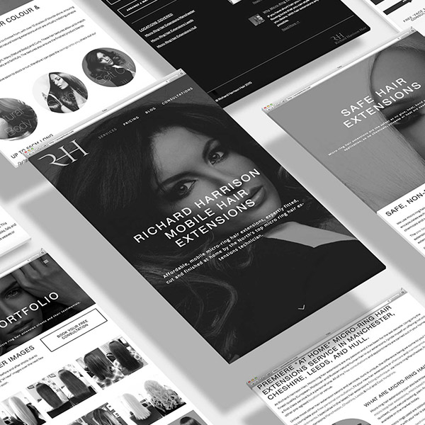 Branding & Website    RICHARD HARRISON HAIR    View Project