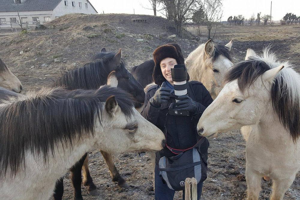 Pulmafotograaf Valdur Rosenvald