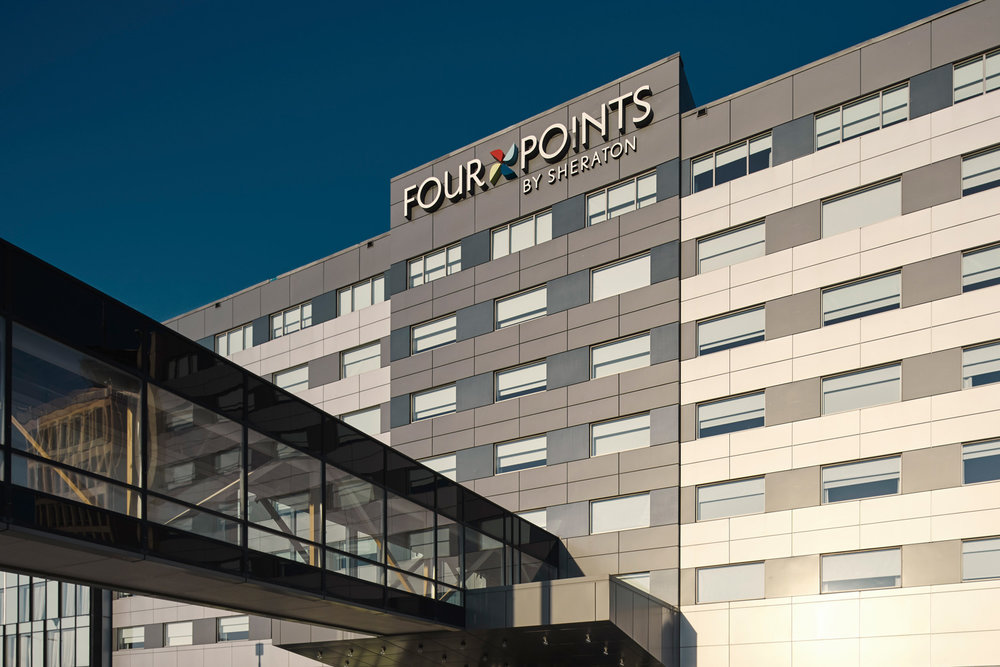 Connecting a newly built hotel to an existing terminal meant linking to a vast and complex administrative, mechanical and electrical framework.