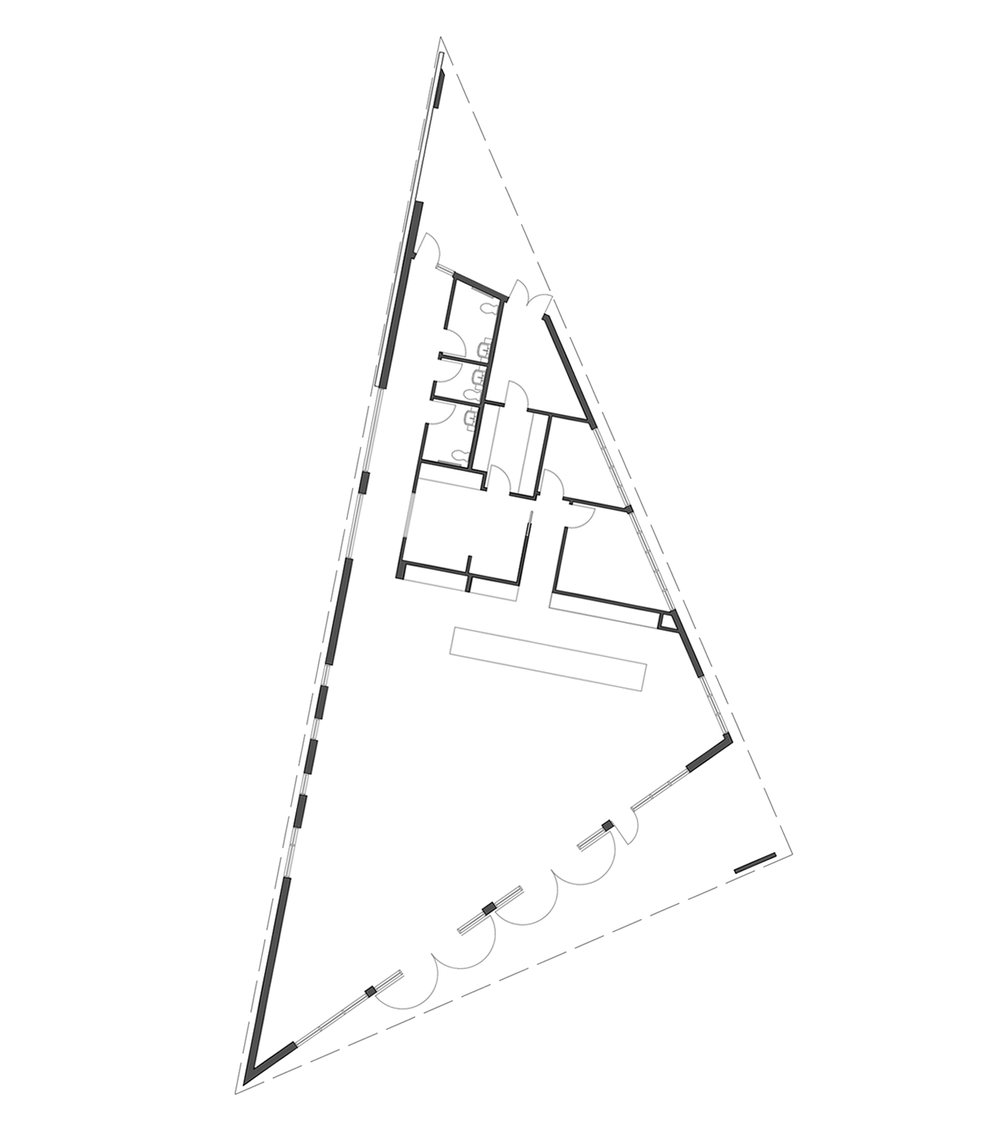….Building floor plan..Plan du bâtiment….