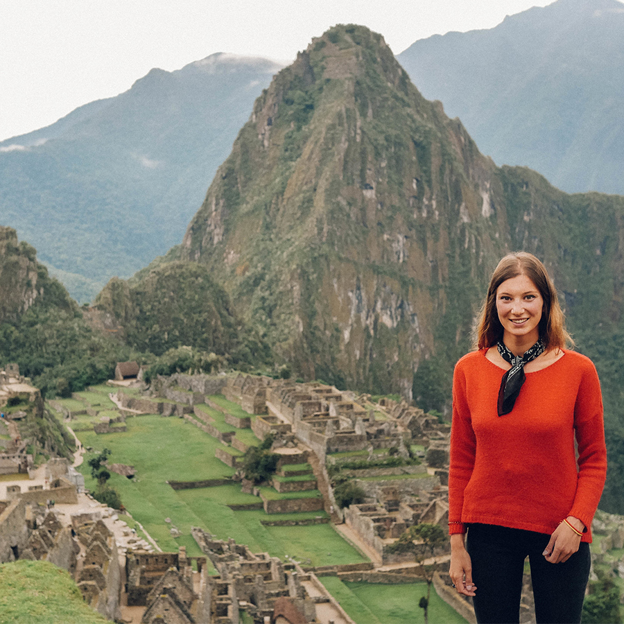 Pénétrer dans l'immensité du Machu-Picchu. -