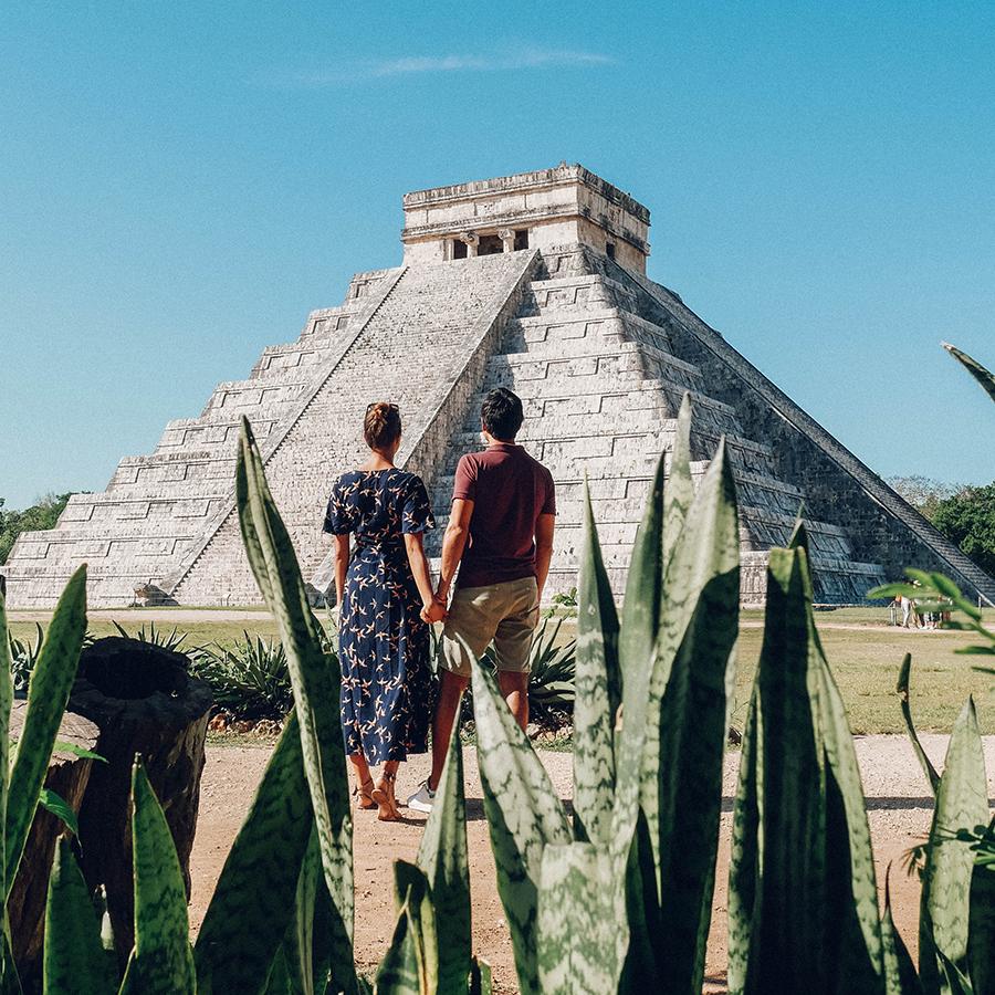 Découvrir la merveille du monde, Chichén Itzá. -