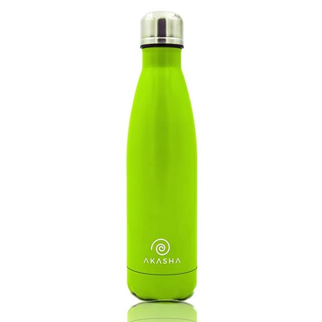 The iconic AKASHA Bottle, hundreds of you use it everyday to stay hydrated 💧 -⠀⠀⠀⠀⠀⠀⠀⠀⠀ Now on sale for only £12.99 💚