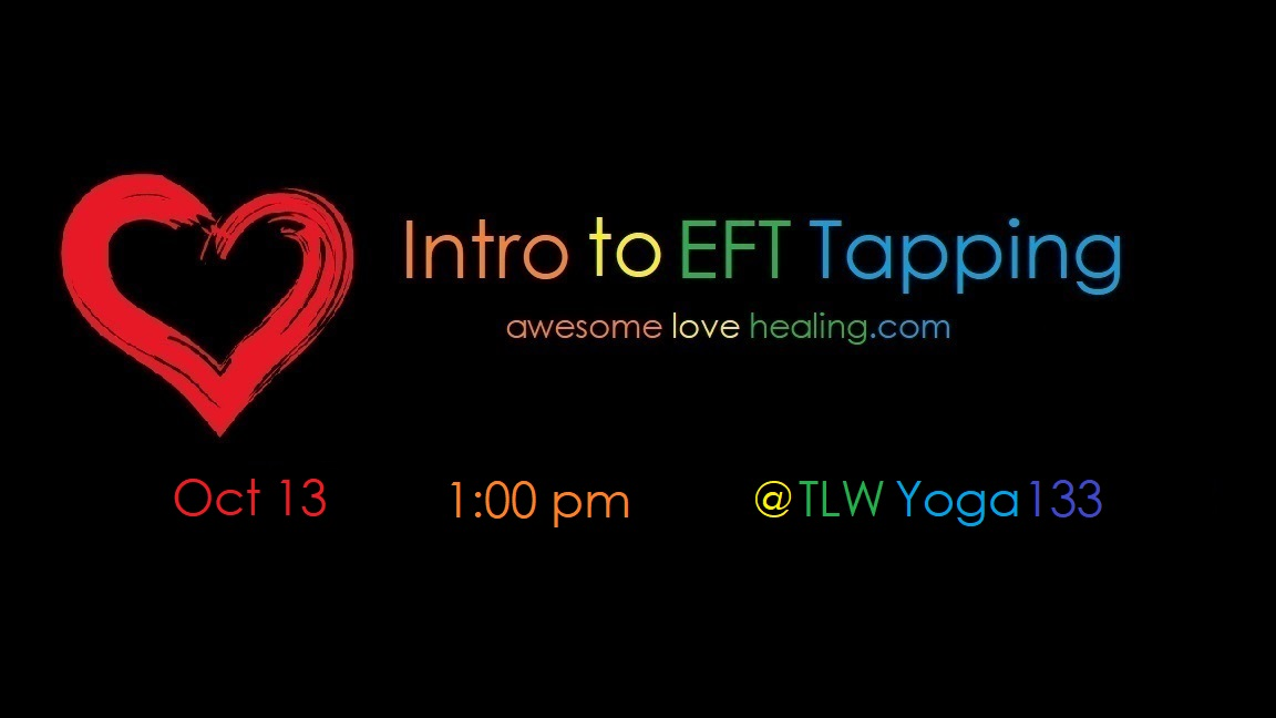 Intro to EFT Tapping — Awesome Love Healing Solutions