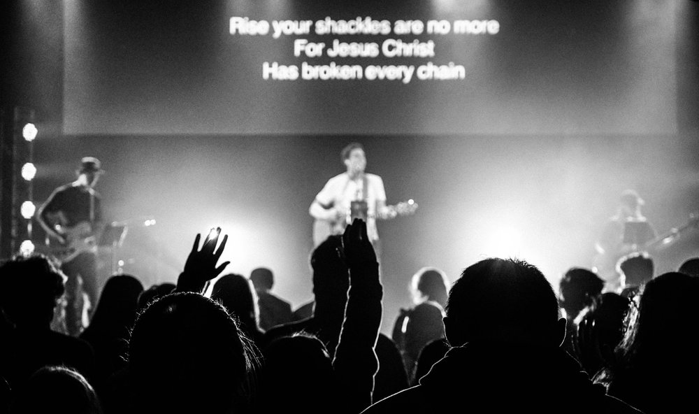Worship Night B&W.jpg