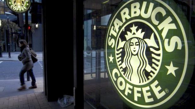 Starbucks has been under fire for the level of taxes it pays on income. Photo: Adrian Brown