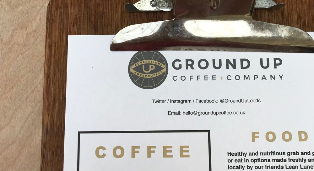 Ground Up Coffee Company -
