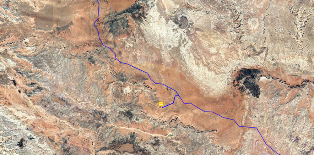 Route to the Temple of the Sun
