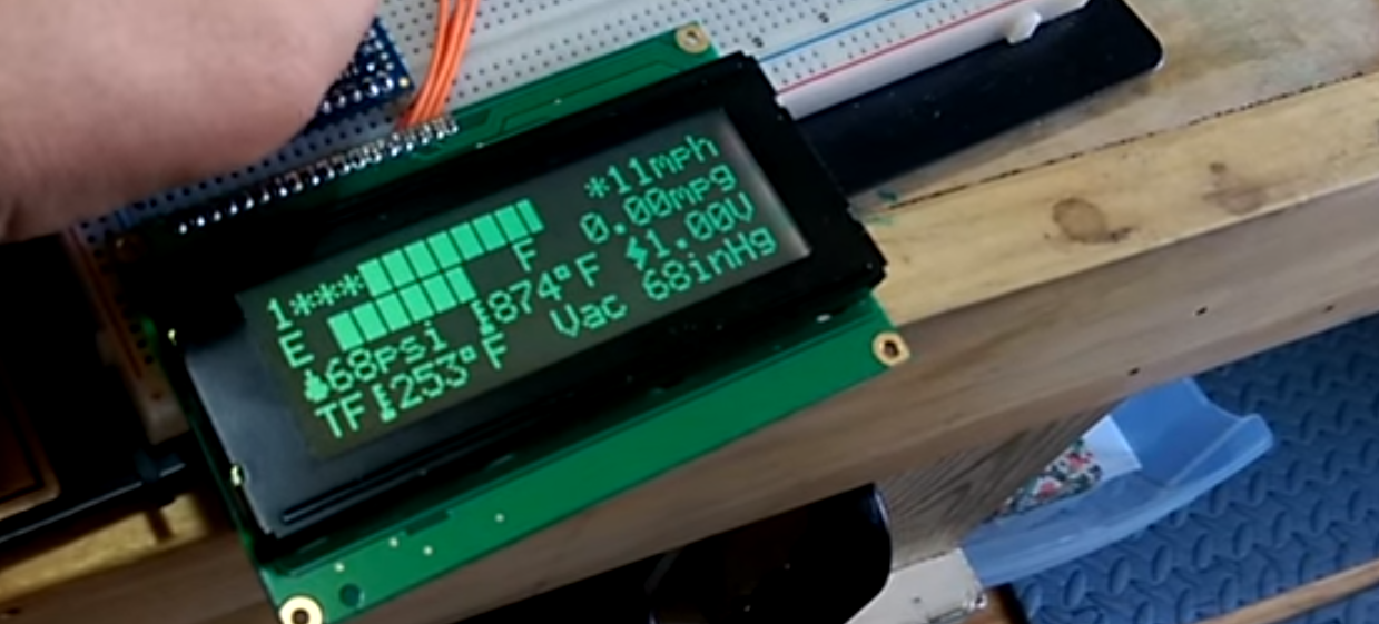 Arduino Controlled Car Dashboard — Never Stop Building