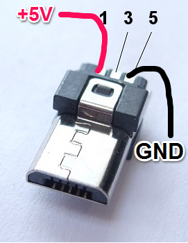 micro usb pinout because everything is terrible never stop building rh neverstopbuilding com usb connectors pinout mini usb wiring pinout