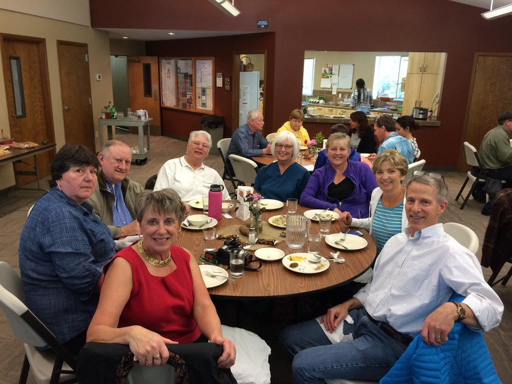 Summer mission trip fundraising meal at Shepherd of the Hills Lutheran Church in Sammamish, WA.