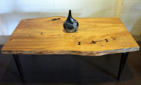 A table made out of locally sourced Podocarpus tree from our friends at  Funktionhouse .