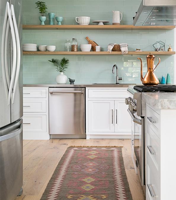modern and chic kitchen
