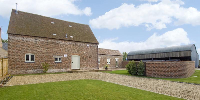 Exterior facade of South Barn, Tredington, Gloucestershire